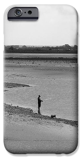 The Banks Of The Somme iPhone Case by Aidan Moran