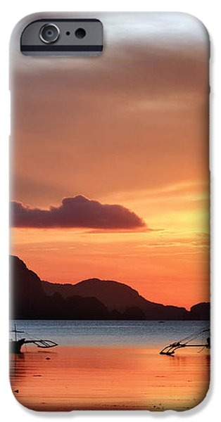 Three Fishermen iPhone Case by John Swartz