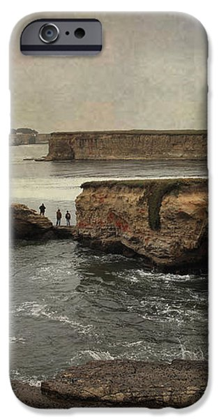 Three Fishermen iPhone Case by Laurie Search