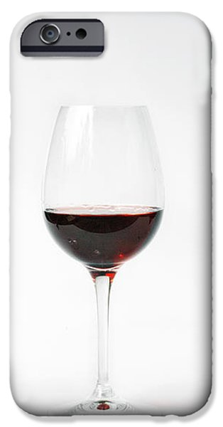 three glasses of wine  iPhone Case by Patricia Hofmeester