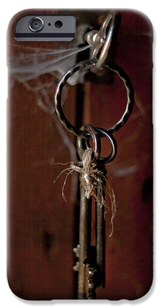 Three Keys iPhone Case by Nomad Art And  Design