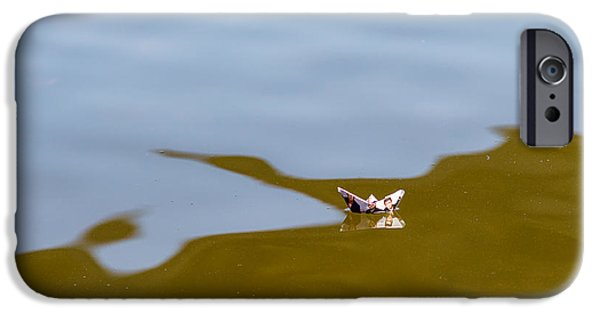 Effervescence iPhone Cases - Three Men In A Boat - Featured 3 iPhone Case by Alexander Senin