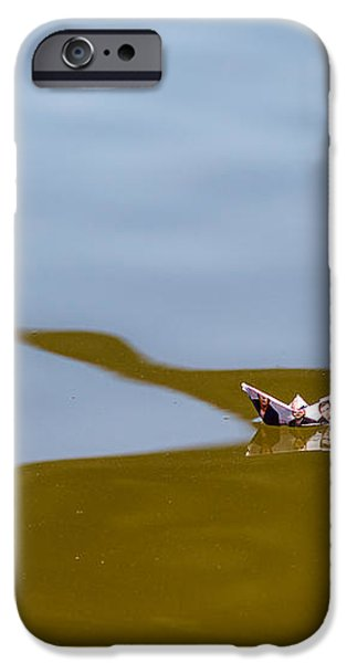Three Men In A Boat - Featured 3 iPhone Case by Alexander Senin