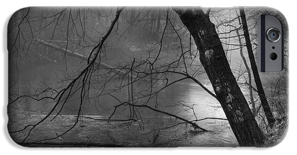 Dave iPhone Cases - Three Mile River iPhone Case by David Gordon