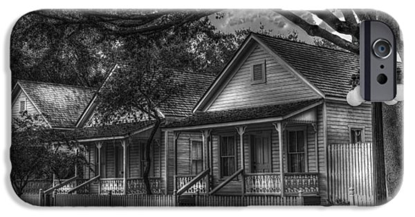 Florida House Photographs iPhone Cases - Three Shotguns iPhone Case by Marvin Spates