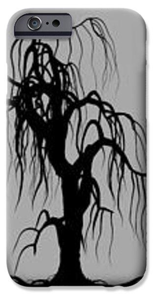 Three Trees iPhone Case by Bob Orsillo