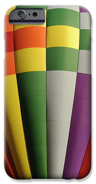 Hot Air Balloon iPhone Cases - Three Two One Liftoff iPhone Case by Luke Moore