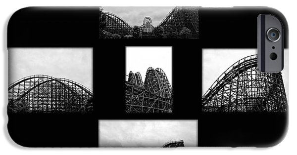 Hershey iPhone Cases - Thrill Ride iPhone Case by Bill Cannon