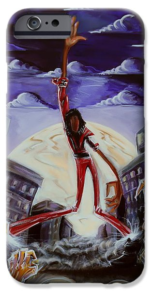 'Thriller V3' iPhone Case by Tu-Kwon Thomas