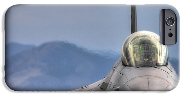 Griffin iPhone Cases - Throttle Up iPhone Case by Brandon Griffin