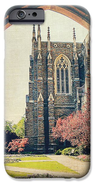 Duke iPhone Cases - Through the Arch iPhone Case by Emily Kay