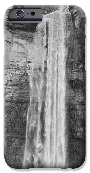 Taughannock Falls State Park iPhone Cases - Thunder in the Air iPhone Case by Joshua House