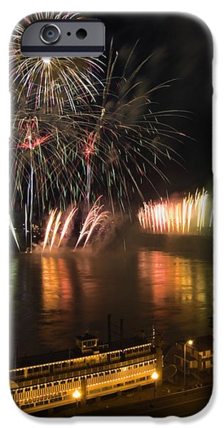 Thunder Over Louisville - D008432 iPhone Case by Daniel Dempster