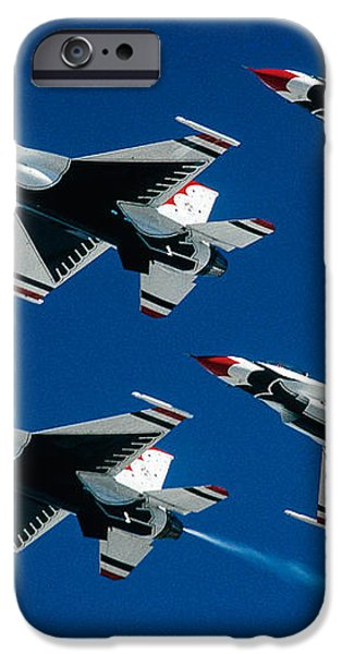 Thunderbirds iPhone Case by Larry Miller