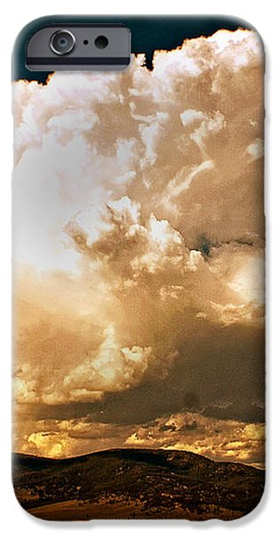 Thunderhead Over The Blacktail Plateau iPhone Case by Marty Koch