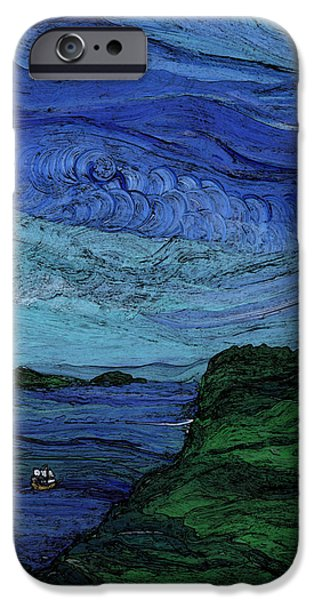 Thunderheads iPhone Case by First Star Art