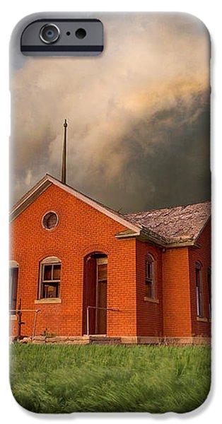 Thunderous Plains iPhone Case by Jill Van Doren Rolo