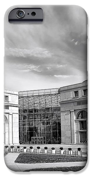 Thurgood Marshall Federal Judiciary Building iPhone Case by Olivier Le Queinec