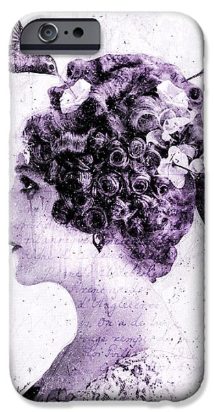 Nectar iPhone Cases - Thy Love Like Nectar iPhone Case by Gary Bodnar