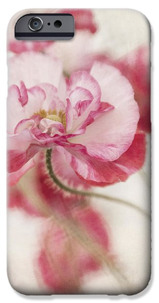 tickle me pink iPhone Case by Priska Wettstein