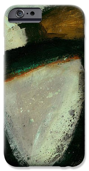 Abstract Drawing iPhone Cases - Tidal Current 2 iPhone Case by Jane Davies