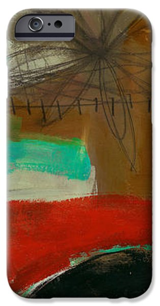 Abstracted iPhone Cases - Tidal Current 3 iPhone Case by Jane Davies