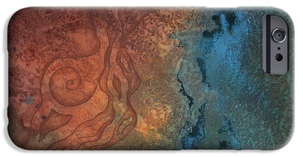 Transformation iPhone Cases - Tide Pool 2 iPhone Case by Ellen Starr
