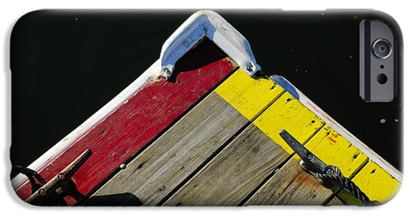 Sail Board iPhone Cases - Tied-Up iPhone Case by Luke Moore