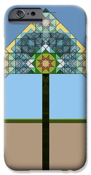 """indoor"" Still Life Digital Art iPhone Cases - Tiffany Lamp iPhone Case by Roger Bushman"