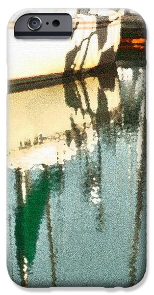Tiffany Sailed From San Francisco to Moss Landing iPhone Case by Artist and Photographer Laura Wrede
