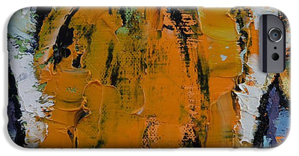 Michael iPhone Cases - Tiger Eyes iPhone Case by Michael Creese