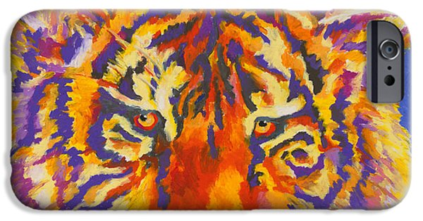 Large Cats iPhone Cases - Tiger iPhone Case by Stephen Anderson