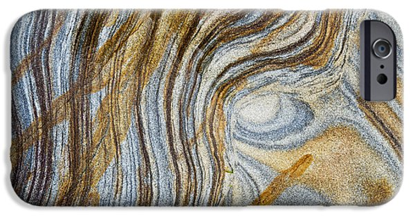 Sandstone iPhone Cases - Tigers Eye iPhone Case by Tim Gainey