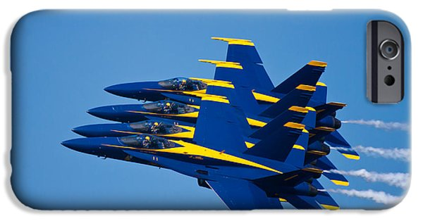F-18 iPhone Cases - Tight With My Brothers iPhone Case by Adam Romanowicz
