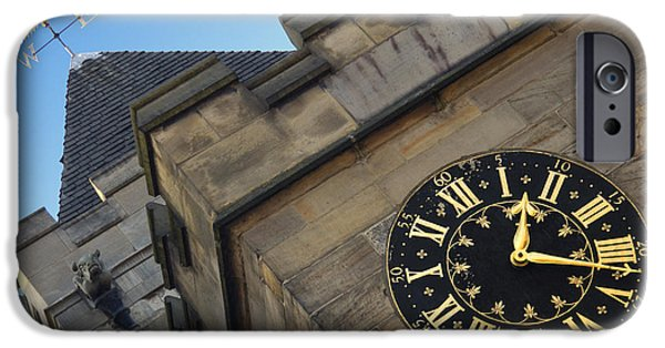 Historic England iPhone Cases - Time and Direction iPhone Case by Mike McGlothlen