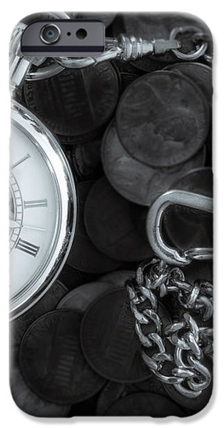 Time and money iPhone Case by Bob Orsillo
