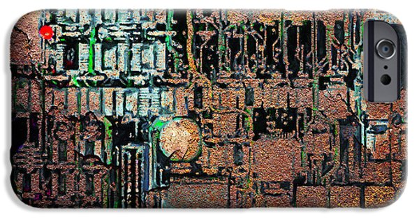 Upgrade iPhone Cases - Time For A Motherboard Upgrade 20130716 square iPhone Case by Wingsdomain Art and Photography