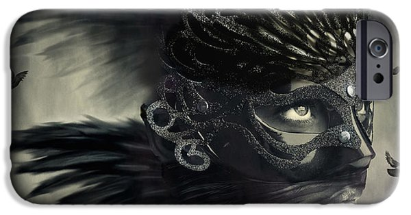 Concept Digital Art iPhone Cases - Time for me to fly iPhone Case by Bojan Jevtic