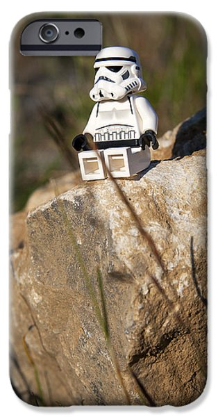 Lego iPhone Cases - Time for Reflection iPhone Case by Samuel Whitton