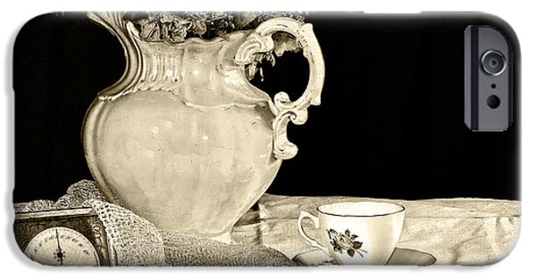 Vale iPhone Cases - Time for Tea iPhone Case by Camille Lopez