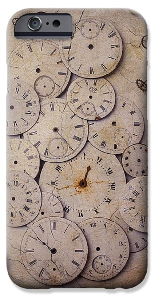 Mechanism iPhone Cases - Time Forgotten iPhone Case by Garry Gay