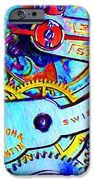 Time In Abstract 20130605 iPhone Case by Wingsdomain Art and Photography