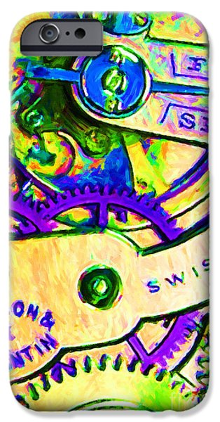 Time In Abstract 20130605m144 iPhone Case by Wingsdomain Art and Photography
