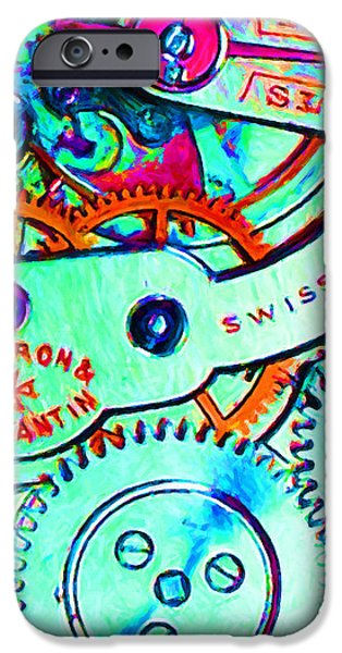 Time In Abstract 20130605m36 Long iPhone Case by Wingsdomain Art and Photography