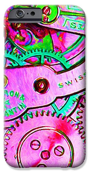 Time In Abstract 20130605p108 Long iPhone Case by Wingsdomain Art and Photography
