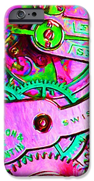 Time In Abstract 20130605p108 iPhone Case by Wingsdomain Art and Photography