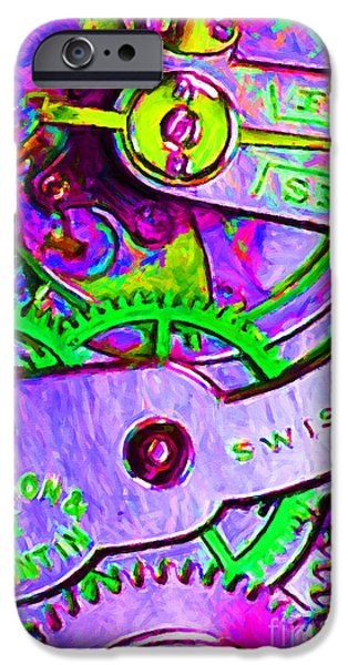Time In Abstract 20130605p72 iPhone Case by Wingsdomain Art and Photography