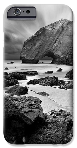 Bw iPhone Cases - Time lapse iPhone Case by Jorge Maia