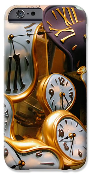 Installation Art Photographs iPhone Cases - Time melting away.. iPhone Case by A Rey