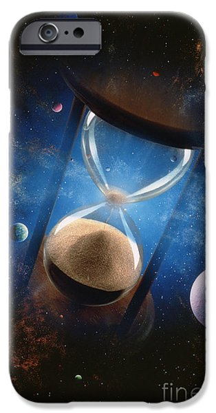 Chronos iPhone Cases - Time iPhone Case by Mike Agliolo